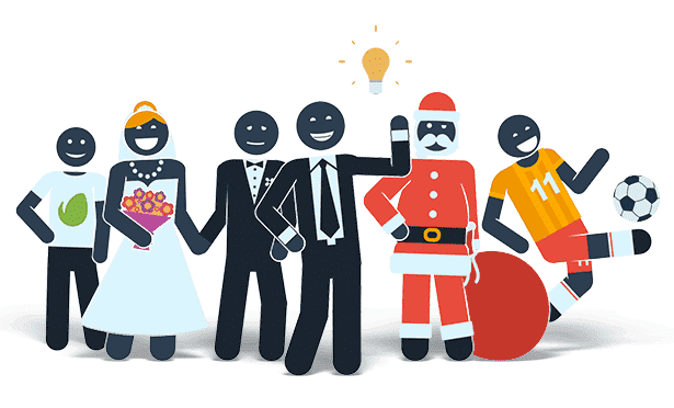 Pictogram Character Kit After Effects Template - Family.