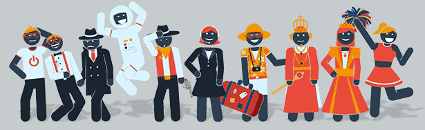 Pictogram Character Kit After Effects Template - Character List.