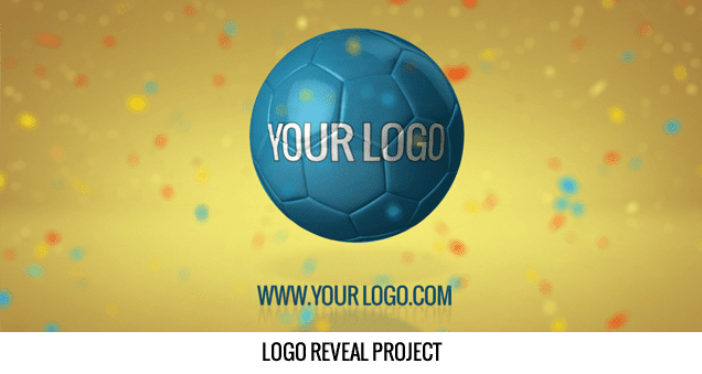 Balls And Flags After Effects Template - Logo reveal Project.