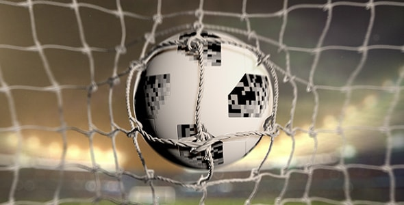 Soccer Ball With Stadium After Effects Template - Thumb.
