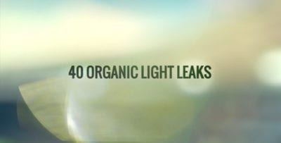 40 Organic Light Leaks After Effects Template - Thumb